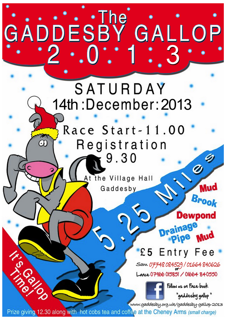2013 Gallop Poster