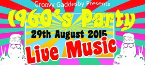 2015 Gaddesby Fun Weekend 1960s Party Image